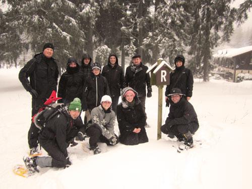 Winterwochenende 2012 im Breitengrund