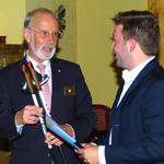 Governor Rolf Rimpo zu Besuch in Ilmenau